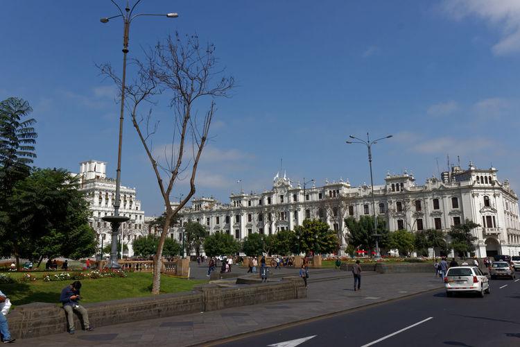 Plaza in Peru