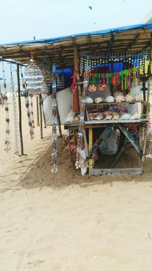 Home Decor Item Are For Sale At Beach,Gopalpur On Sea,Odisha