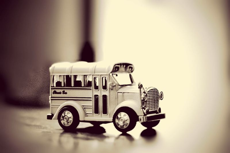 Toy Retro Styled Old-fashioned Photography Themes Toy Car Close-up Day No People Car Toy Bus