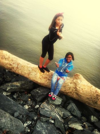 The other day with my Mainzz .!!
