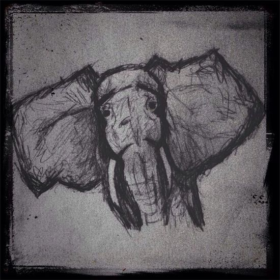 ?? Elephant Art Sketching And Stuff