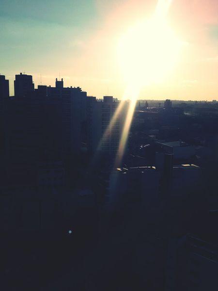 Sillhuette Urban Sunset Sun First Eyeem Photo