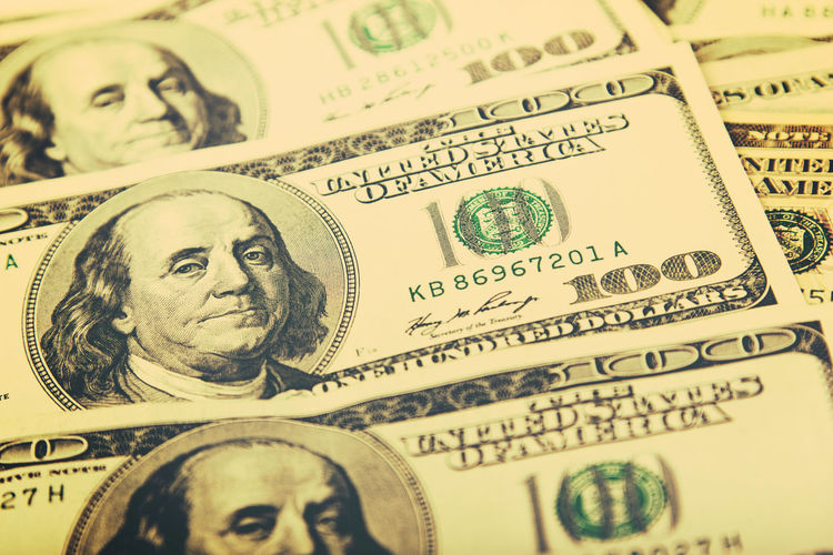Background Business Close-up Currency Currency Dog Dollar Dollar Bill Dollar Notes Dollarbills Dollars Dollars Bi Dollars Day Exchange Finance Finance And Economy Finances Hundreds Investment Investment Bank Investments No People Paper Paper Currency Savings