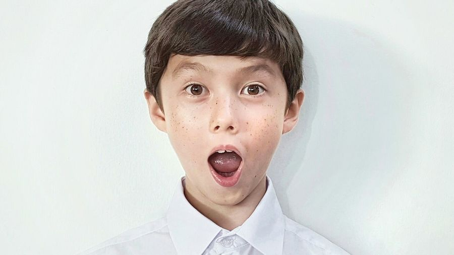 Panasian Boy WOW Expression Colour Of Life