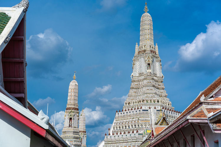 วัดอรุณราชวราราม (Temple of the Dawn, Bangkok) Built Structure Temple Building Exterior Architecture Travel Religion Building Bangkok