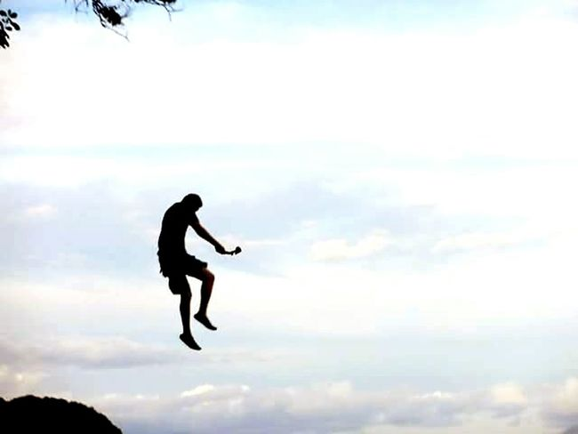 Captured moment right after jumping off the cliff. Minidslr Gopro Shots Check This Out
