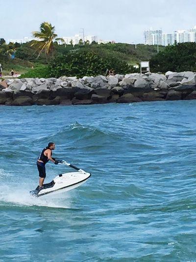 Blue Wave Watersports Jetski Miami Beach Ft Lauderdale Florida Ocean Waves Beachphotography Eyeem Missions