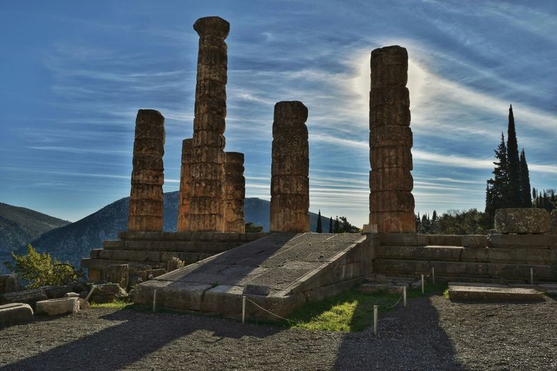 Ancient Greek Architecture And Design Greek Ancient Greece Ancient Greek Ancient Architecture Ancient Architecture Ancient Ruins Temple Architecture Temple Ancient Temple Architecture Ancient Temple No People Outdoors Sky Day