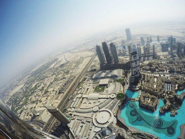 Aerial View Cityscape High Angle View No People Architecture Day City Landscape Outdoors Sky Burj Khalifa View Pool Dubai Fountain Dubai Skyline EyeEmNewHere The Architect - 2017 EyeEm Awards