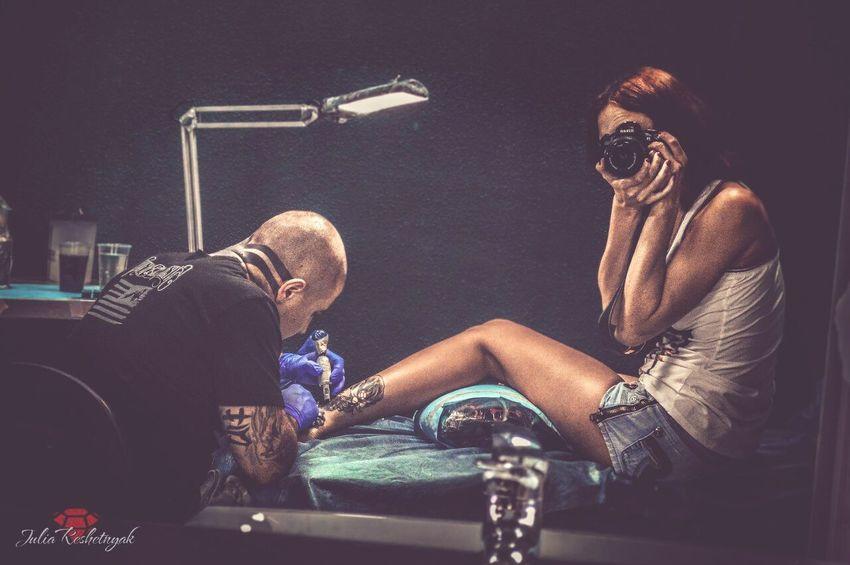 Tattoo JReshetnyаk Hello World Rostov Tattoogirl фотомодель фотоаппарат Cheese! New Tattoo Newlife