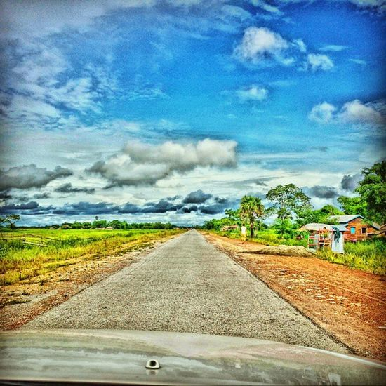 Trip Snap While Driving HDRskyscapelandscapeinstatripinstadailyigersdailyigersmyanmarinstaeffectinstamyanmar2013