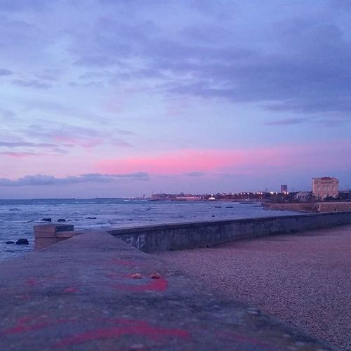 Mare Livorno Tramonto Photooftheday Igerslivorno Igersitalia Sunset RedSky Sea Leghorn Tuscany