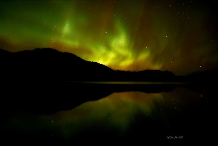 Northern Lights by Mike Smith Photography wyo