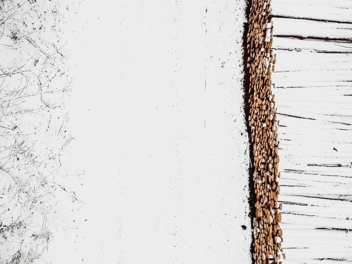 Full frame shot of wall against clear sky