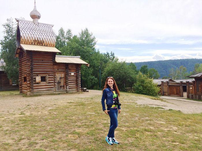 Girl Summer экскурсия Тальцы музей деревянного зодчества 🏯😃☺️