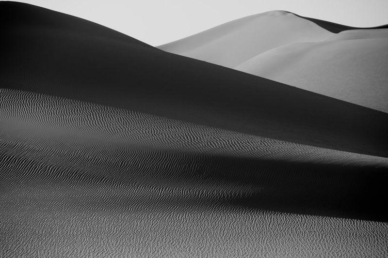 Supernormal sand dunes at sunrise Eye Em Best Shots -Black +White Eye Em Best Shots -Landscapes Tadaa Community Deserts Around The World