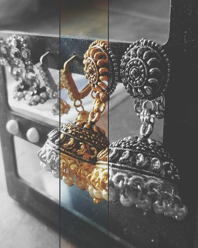 Bridalphotography Bridal Photoshoot No People Close-up Earrings ❤ Jhumkas Jhumka Girlythings Girlythings Jewelrydesigner Jewellery Photoshoot Jewellery Art Jewelleryphotography MotoClick