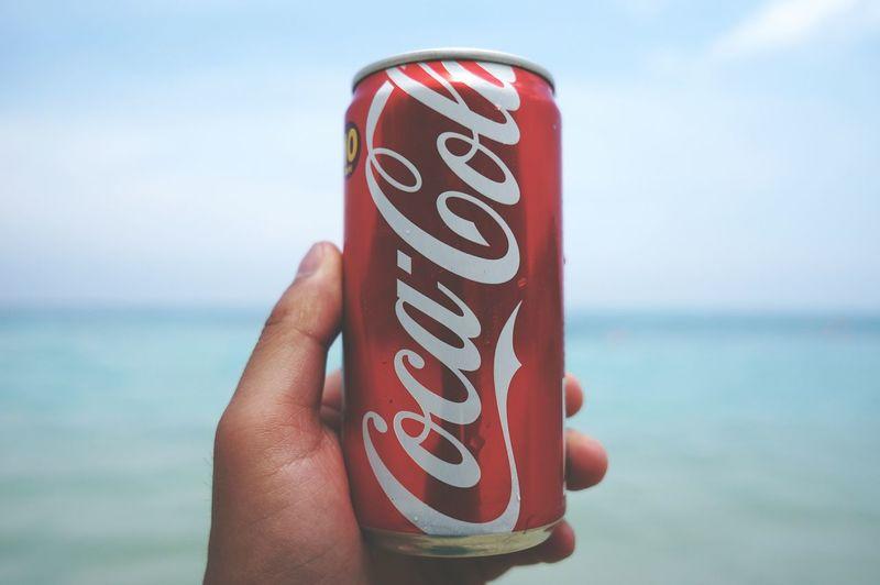 Cocacola Coke Beach Bokeh Cola Sea