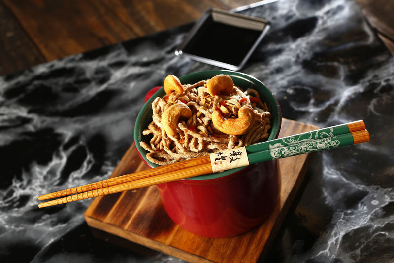 yakisoba Food Food And Drink Close-up No People Indoors  Healthy Eating Freshness Ready-to-eat Still Life High Angle View Table Yakisoba Chopsticks Italian Food Pasta Communication Kitchen Utensil Eating Utensil Wellbeing Bowl Asian Food Snack Tray Japanese Food Shoyu