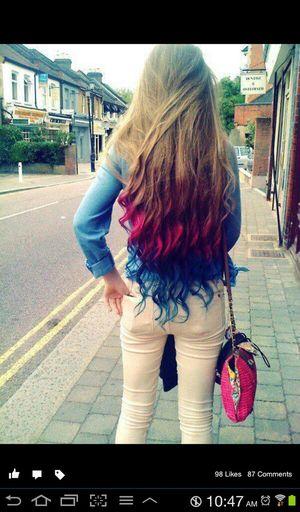my bestfriend hair ..
