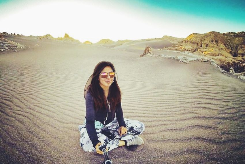 Sanpedrodeatacama CL Gopro Goprohero Goproselfie Valledelaluna Desierto Moonvalley Chile CL