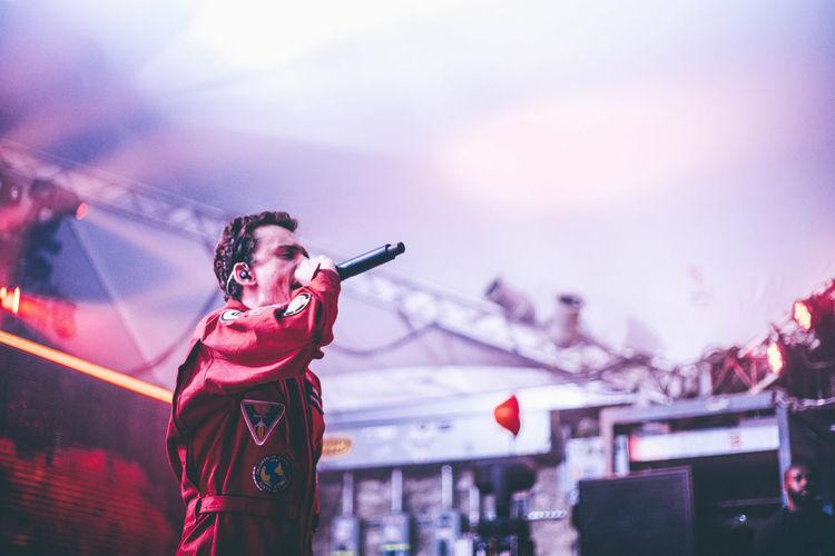 Music Brings Us Togheter Logic Hip Hop Live Music Rap Rapper Microphone Microphone Check Stubbs