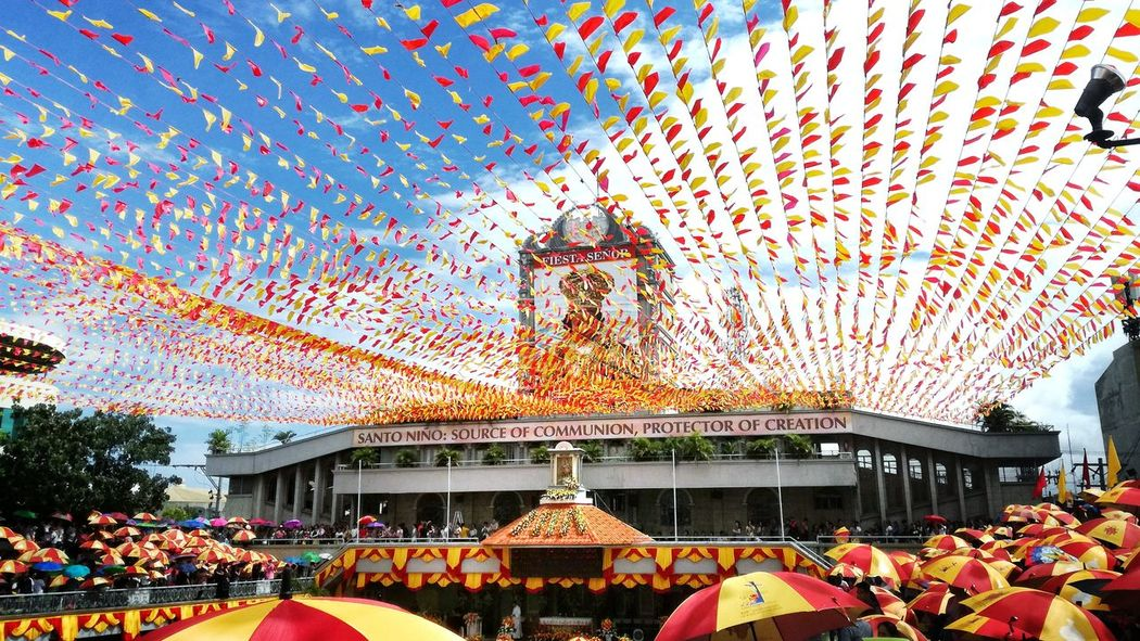 Sinulog2017 Arts Culture And Entertainment Sinulog Festival Architecture Built Structure Building Exterior Celebration Sinulog EyeEmNewHere