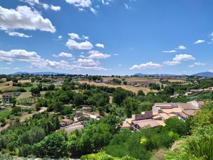 A panorama from