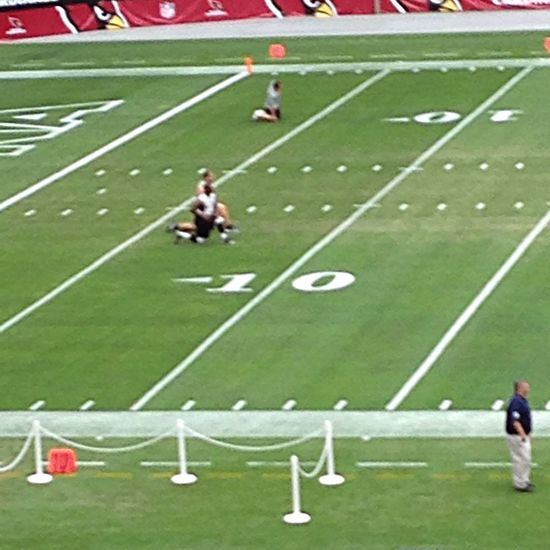 Watching the Bengals warm up. Football NFL