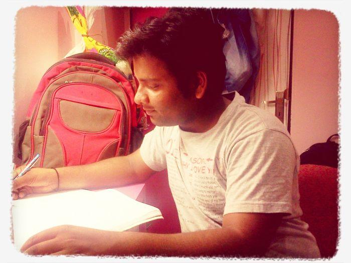 Huh study time ! Abhi First Eyeem Photo
