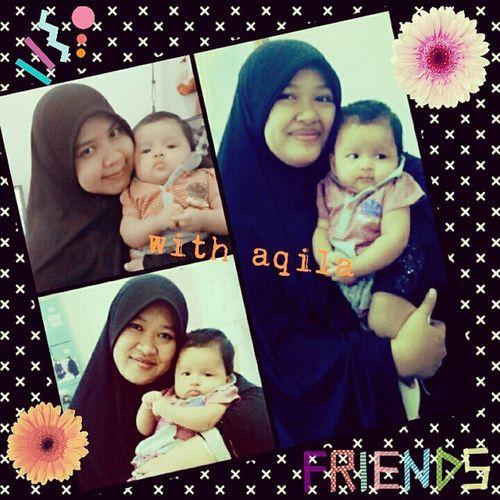 Iseng d Kantor Notaris Depok with Aqila cantik narsis n selfie haiyahhhhh