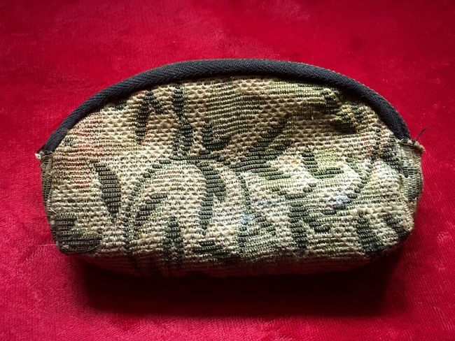 Photographic Memory Check This Out Handbag  Coinpurse Old Purse Grandmother Antique Style Retro Vintage