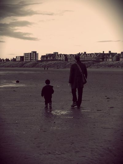 Father and Son Stannes Lythamstannes Father & Son My Photos