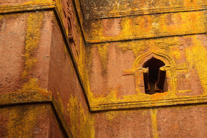 Architecture Built Structure Church Ethiopia Full Frame Lalibela Monolithic  No People Old Religion Travel