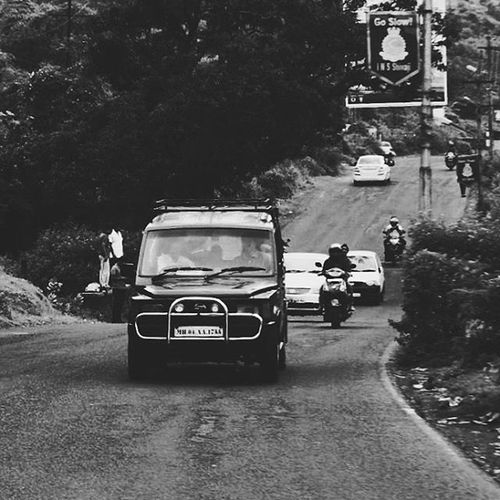 You climb to reach the summit, but once there, discover that all roads lead down. Lonavaladiaries Puneinstagrammers Puneclickarts Inspiroindia Vscocam Vscoindia Bnw_captures Bnwlove