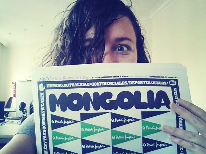 ha arribat el número de la discòrdia de la @revistamongolia Elpeñóninglés