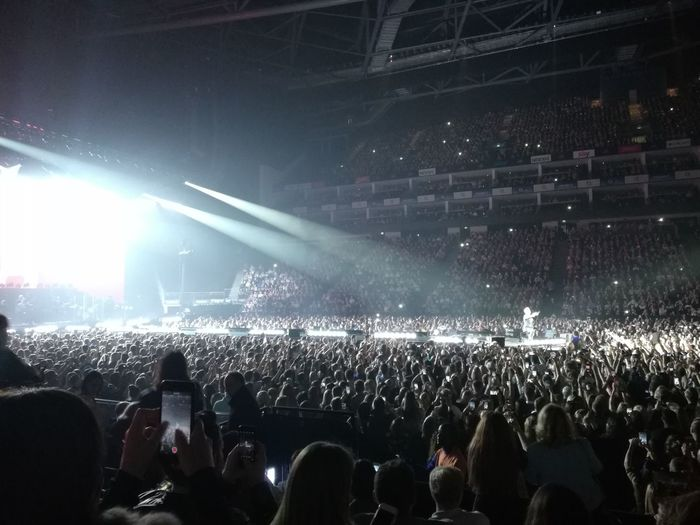 London O2 Arena Concert Music Concert Stage Stage Light Light Beam Spotlight Stage - Performance Space Entertainment Occupation