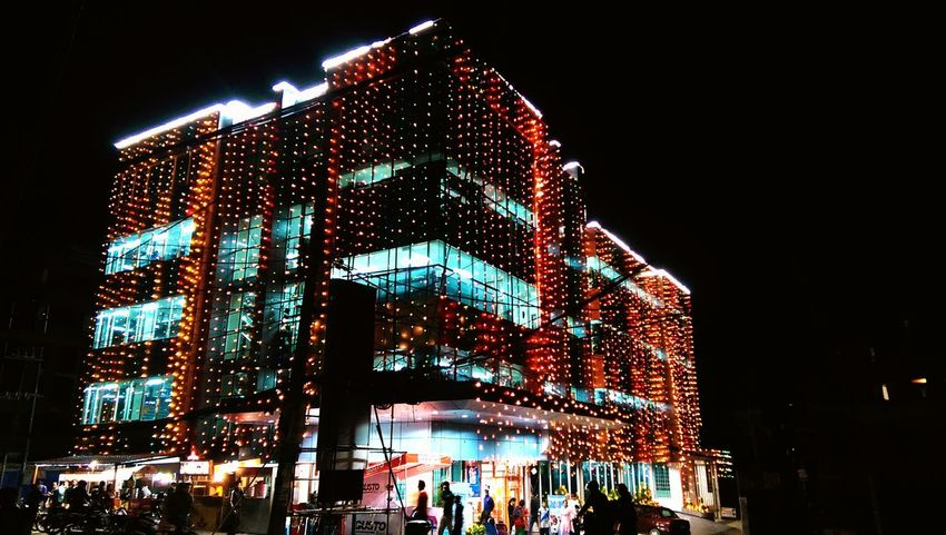 Bhatbhateni Supermarket , Decorated , Tihar , Festivaloflights , Htconem8Click