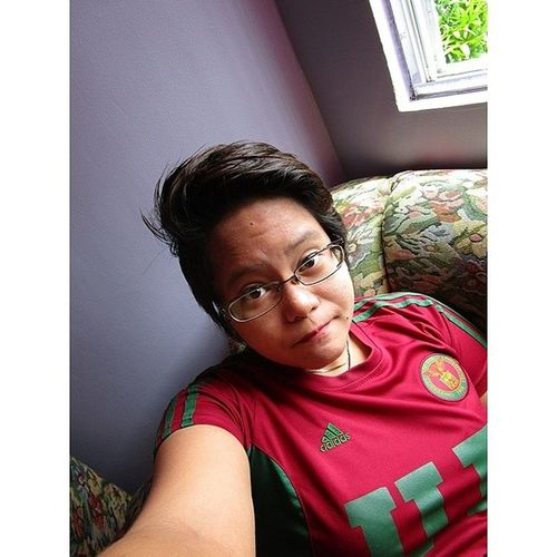 Remember, people only rain on your parade because they're jealous of your sun and tired of their shade. Selfie Shameless Up RedShirt  hairstyle spectacles smile love life passion igers potd LitratongPinoy confidence tomboy lgbt equality noh8 gaypride dyke lesbian androgynous lesbiansofinstagram gaygirls lezziegram queer lesbeshouts girlswithshorthair LFoi lesbianhour