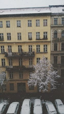 Window Building Exterior Architecture Built Structure City No People Outdoors Day Winter Snow Berlin Photography Outside World Architecture Germany Deutschland Old Buildings Front View Myberlin Capture Berlin