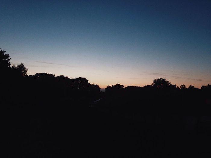 Nice. Sunset