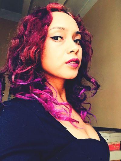 EyeEm Nature Lover Hairstyle Hairpurple Hairpink Colors