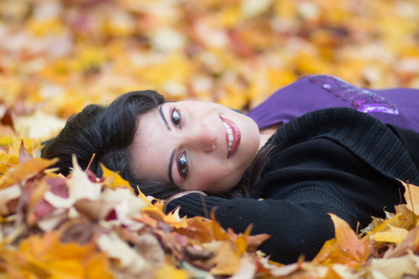 Smile in the Autumn leaves Adult Autumn Autumn Colours Autumn Portrait Beautiful Autumn Beautiful In The Fall Beautiful People Beautiful Woman Beauty Beauty In Autumn Laying In Autumn Leaves Model One Woman Only Only Women Outdoors People Pretty Woman In Autumn Relaxing In Autumn Streamzoofamily Woman In Autumn Young Adult Young Women