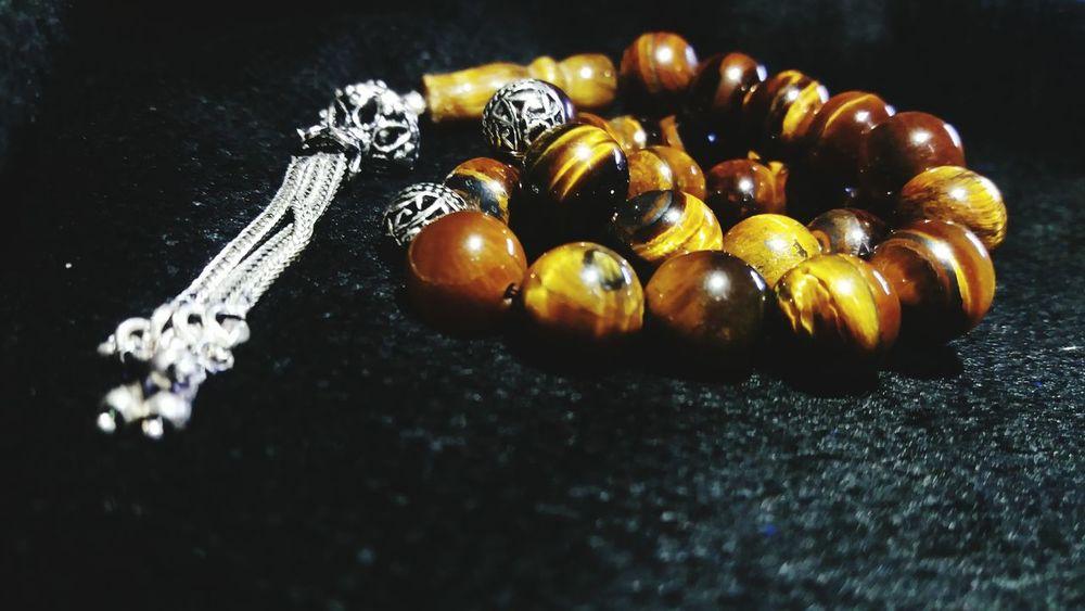 BYOPaper! Tiger Eye Stone Rosary Silver  Handmade Gemstone Jewelry Jewellery