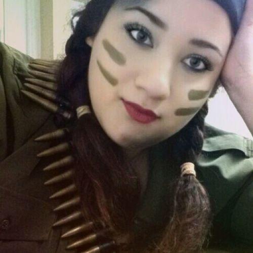 Armylook Halloweenideas Halloween Valuevillage costumeconsultant makeup