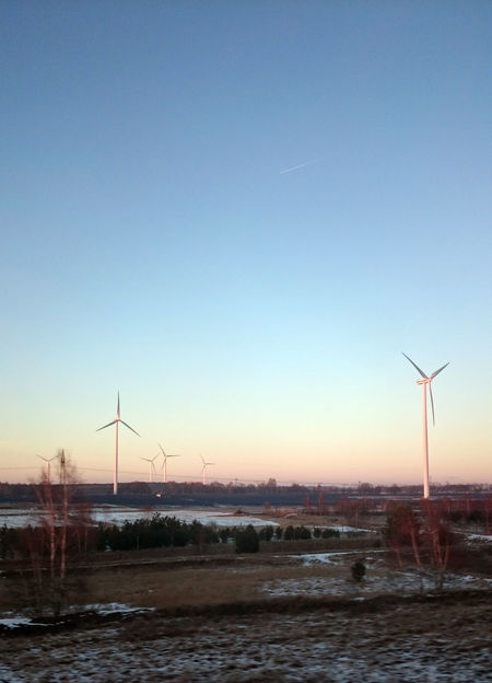 Brandenburg Countryside Windcraft Winter