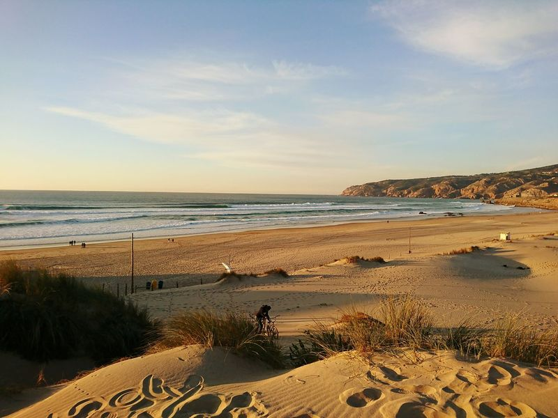 Beach Sea Sky Horizon Over Water Sunset Sand Nature Tranquility Beauty In Nature 365days365photos This Week On Eyeem Sony Xperia Photography. Happytogether Sony Xperia Xz Guincho, Portugal Cityscape Blue Outdoors Beauty In Nature Mountain Personal Perspective Ocean