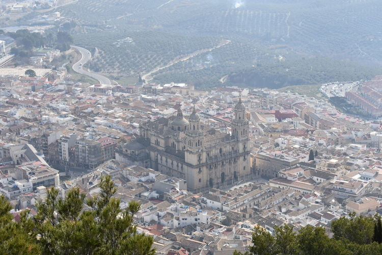 No Edit, No Filter, Just Photography Andalucía Streetphotography View High View Mountain View City View From Mountain Sky And Clouds