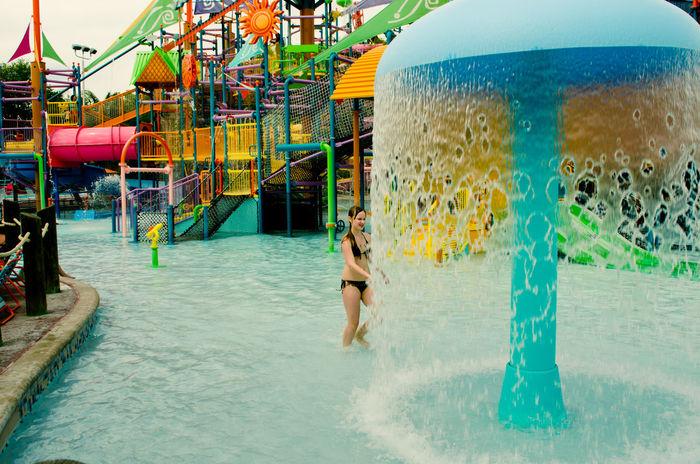 Amusement  Amusementpark Aquapark Aquatica Enjoyment Entertainment Evening Orlando Florida Pleasure Relaxing Time Rest Slides USA USAtrip Vacation Vacation Time Water Waterdrops Waterfall