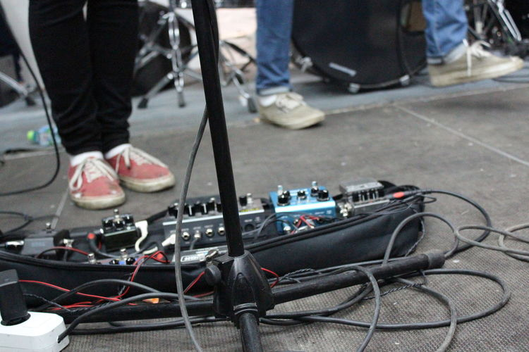 Delay Guitar Guitar Pedals Guitarist Human Leg Pedalboard Post Rock Punk Technology